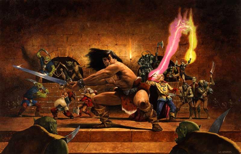 Juego de tablero Hero Quest