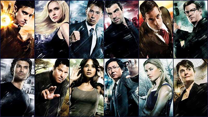 Personajes de la serie Héroes de la NBC