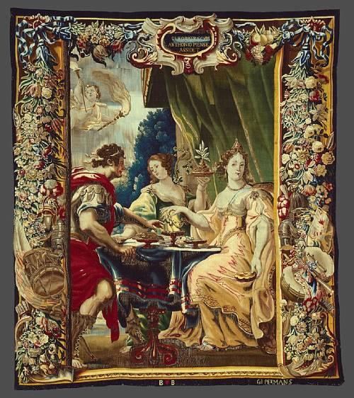 historias-de-amor-reales-Cleopatra-y-Marco-Antonio
