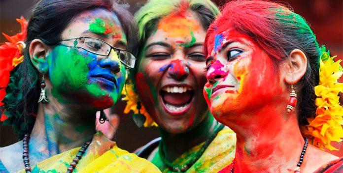 Holi: la fiesta hindú de los colores.