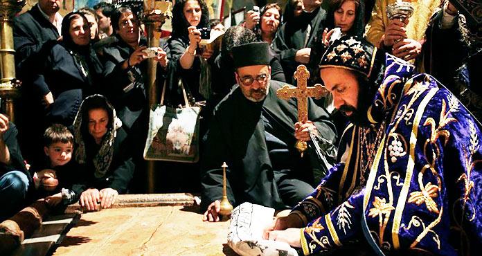 Acto ceremonial del Santo Sepulcro