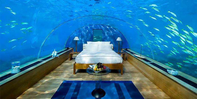 Hoteles originales descubre c mo son y d nde est n for El hotel que esta debajo del agua