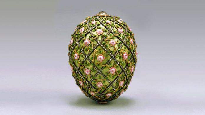 Los huevos Fabergé: una carísima tradición de Pascua