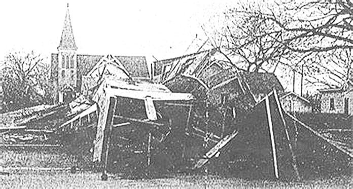 Coincidencias espeluznantes - iglesia Westside de Nebraska tras la explosión