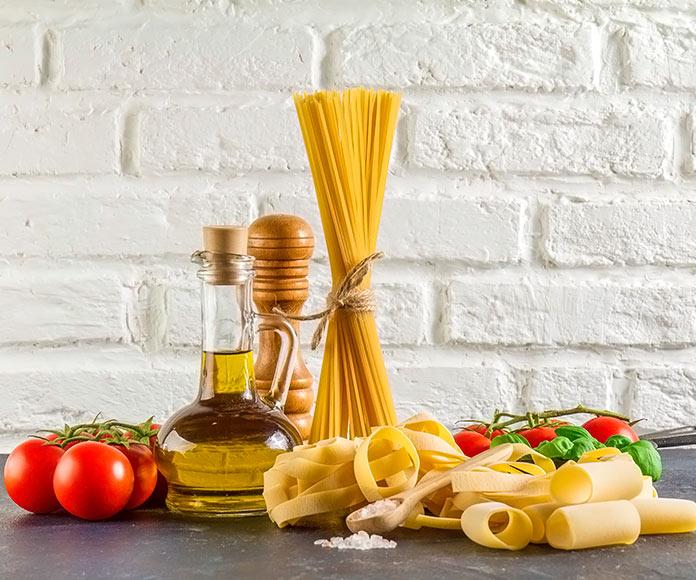ingredientes para hacer un plato de pasta