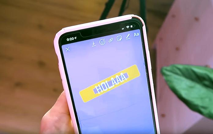 Trucos para Instagram Stories - Cajas de fondo de texto