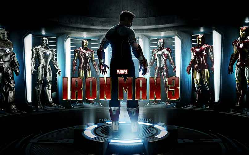 Foto promocional de la película Iron Man 3