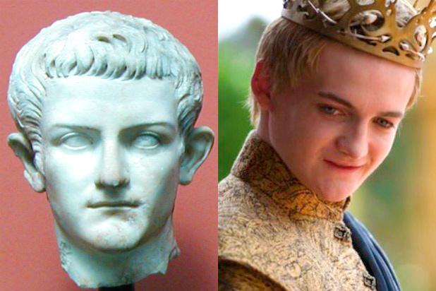 Calígula y Joffrey