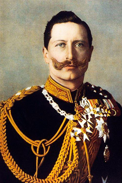 Kaiser Guillermo II (Vilma Parlaghy, 1895)