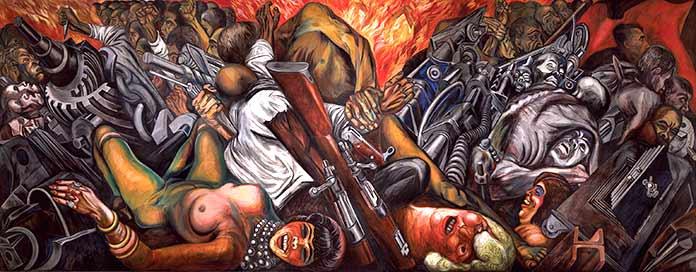 Katharsis, mural de José Clemente Orozco