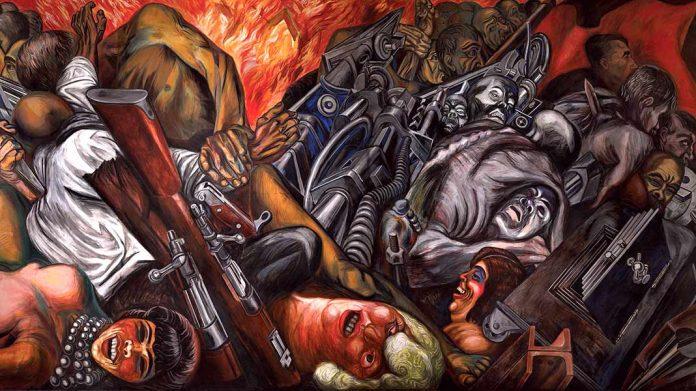 Katharsis: el mural del pasado que describe el presente