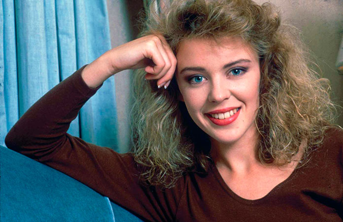 Kylie Minogue antes