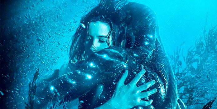"""La forma del agua"": Una hermosa historia nominada a 13 Oscars."