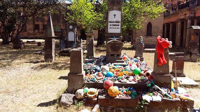 La tumba de Nachito