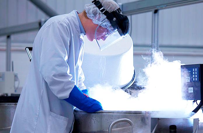 Laboratorio de criogenización Bio-Cord, Inglaterra.