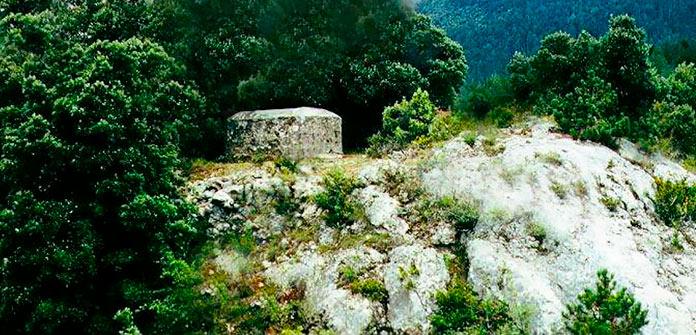 La tumba de Jesús en las laderas del monte Cardou