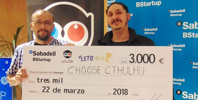 Choose Cthulhu gana el primer premio del reto #letsdoit.
