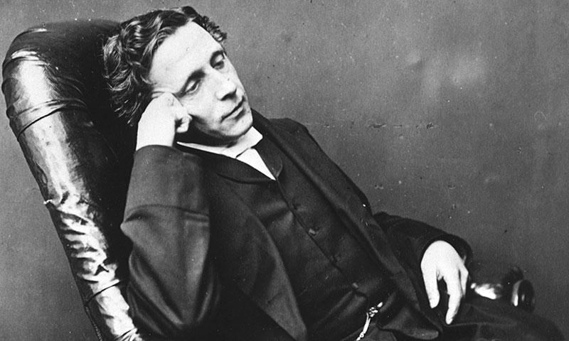 Lewis Carroll (el reverendo Charles Dodgson)