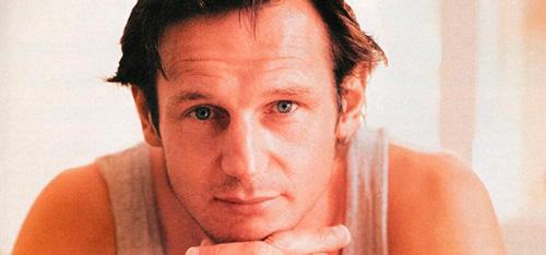 Foto promocional del actor Liam Neeson