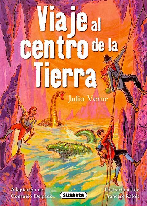 """Libro """"Viaje al Centro de la Tierra"""""""