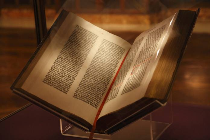 Libros-Incunables+Biblia-Gutenberg