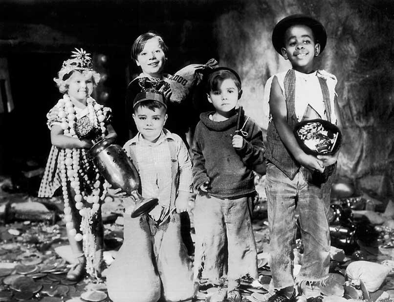 Personajes protagonistas de la serie de televisión Little Rascals
