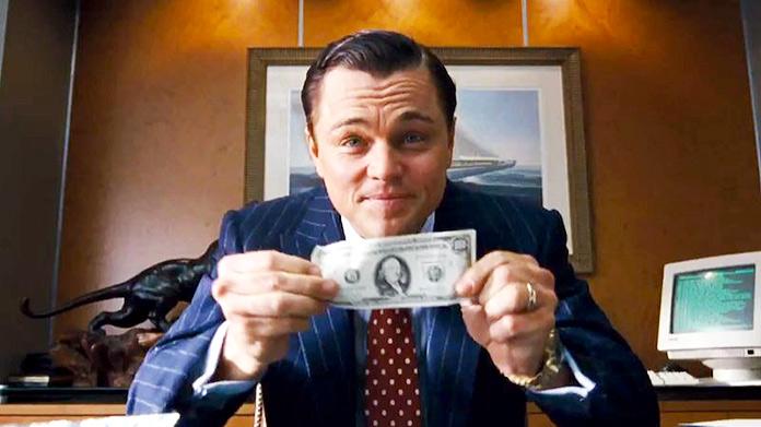 El Lobo de Wall Street - Margot y Leonardo