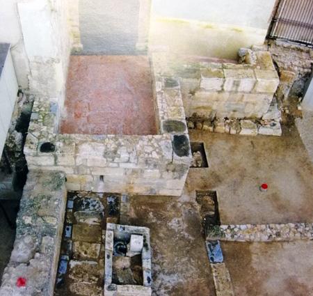 Los baños de la Cárcel de San Vicente