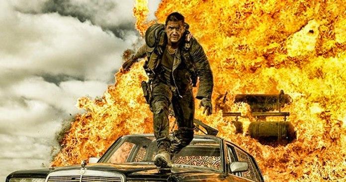 Escena de acción de la película Mad Max Fury Road
