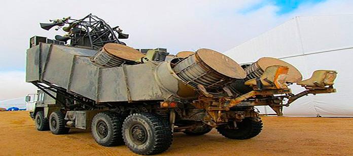 Mad Max Drum Truck, vehículo de la película Mad Maz Fury Road
