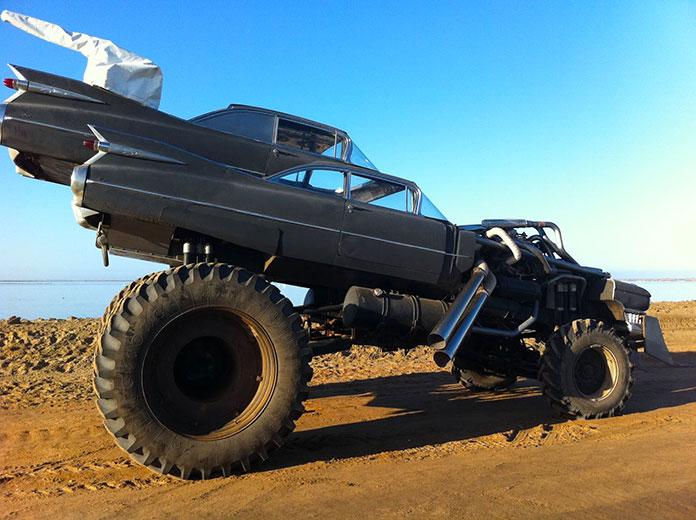 Gigahorse, el vehículo de Furiosa en Mad Max Fury Road