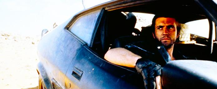 Mel Gibson en la primera entrega de Mad Max de George Miller