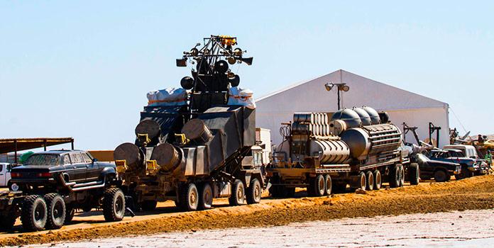 Vehículos de la película Mad Max Fury Road