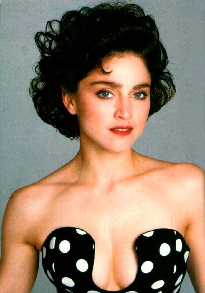 Madonna antes