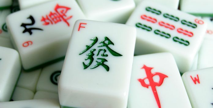 Fichas de Mahjong