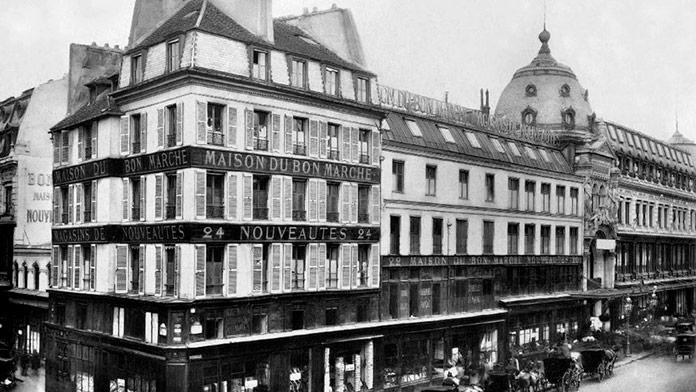 """Gran almacén """"La Maison Du Bon Marché"""", Paris (Francia)"""