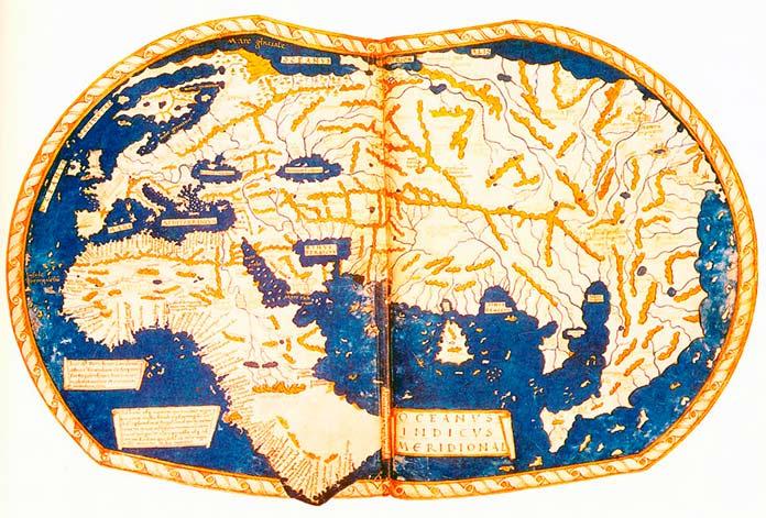 Mapamundi de Henricus Martellus Germanus