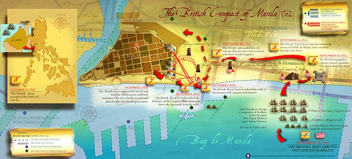 conquista británica de Manila