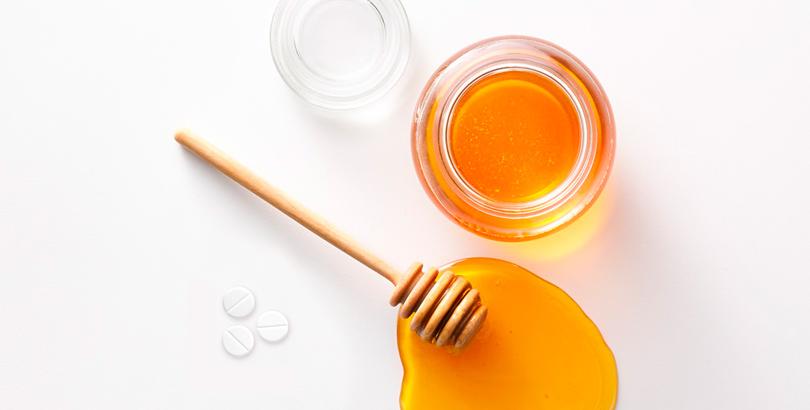 mascarilla de aspirina y miel