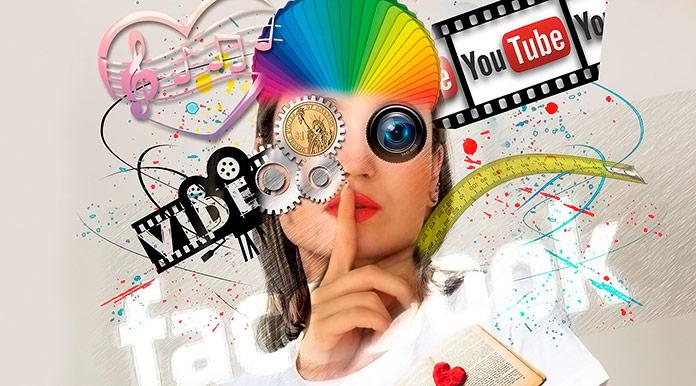 composición de varios medios de comunicación online