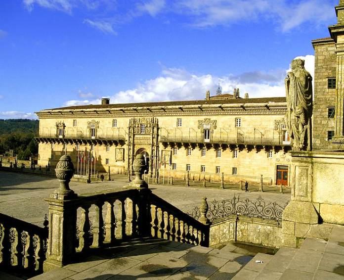 20 mejores paradores de España - Parador de Santiago de Compostela