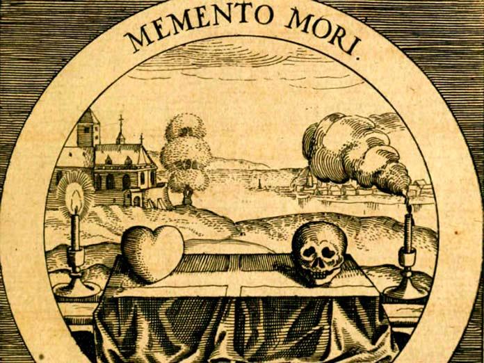 Memento mori Emblemata Sacra. Daniel Cramer