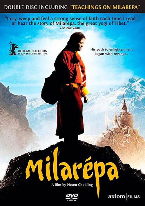 "Póster de la película ""Milarepa"" 2006"