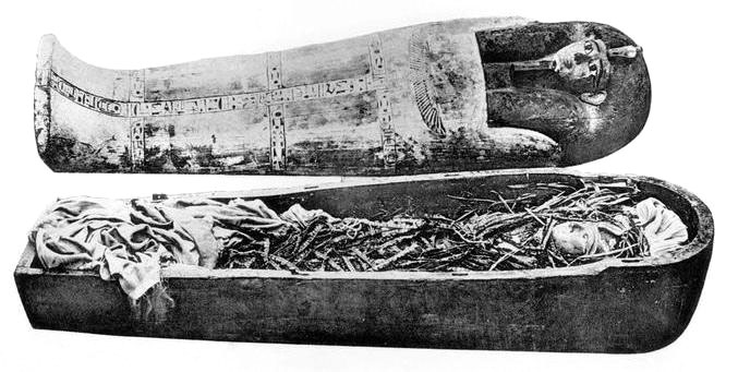 Momia de Amenofis I