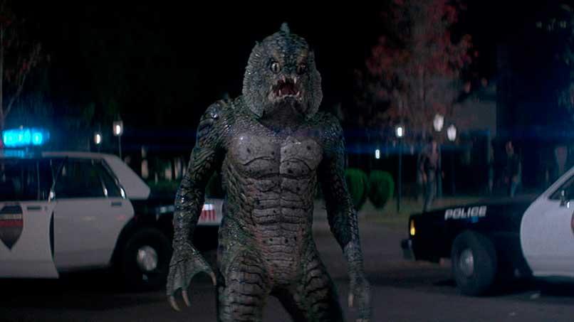 Personaje del monstruo del pantano de la película Una Pandilla Alucinante
