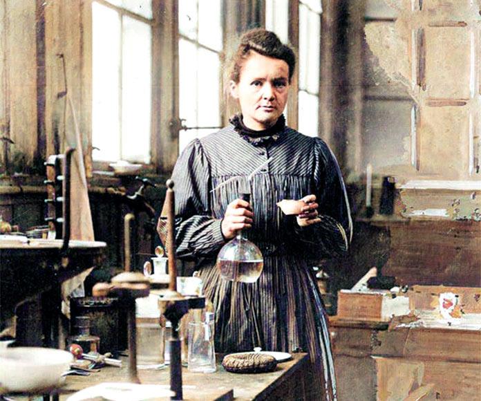 Marie Curie, ganadora del Premio Nobel
