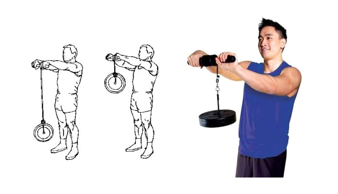 Músculos olvidados: Antebrazo con cuerda