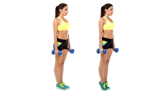 Músculos olvidados: Elevaciones de talones