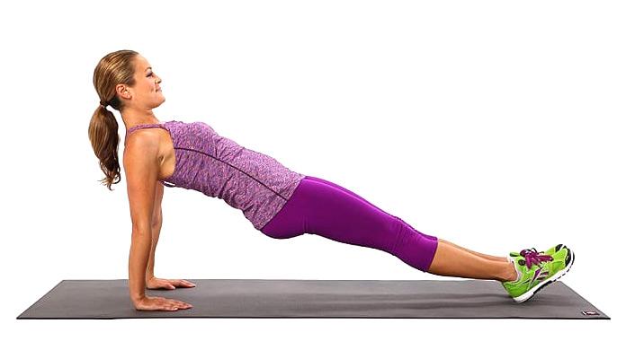 Músculos olvidados: Plancha Invertida