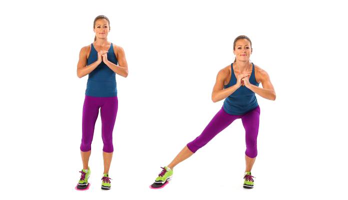 Músculos olvidados: Zancada lateral deslizante